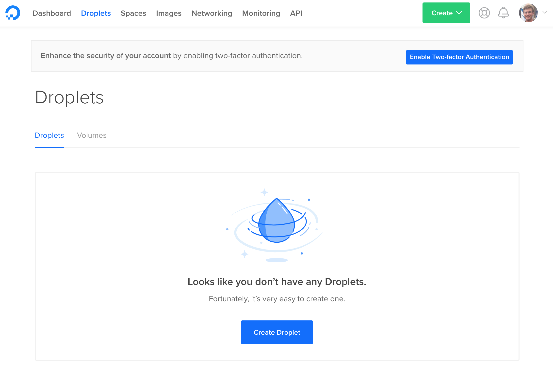 droplets page image